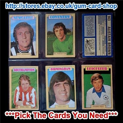 A&Bc 1973 Blue Back 2Nd Series (G/F 132 - 264) *Pick The Cards You Need*