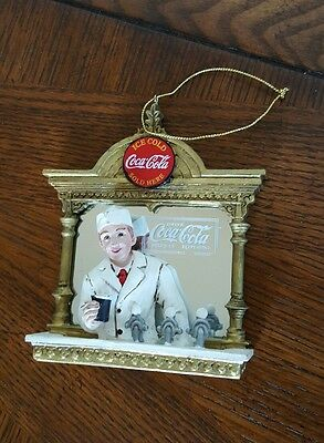 Coca Cola Christmas Ornament Soda Jerk