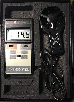 Fisher Scientific 01-241 Outside Air Velocity Anemometer + Probe New In Case
