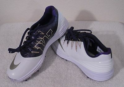 New Nike Lunar Control 4 Womens Golf Shoes White Purple Gold Msrp 170 44 99 Picclick
