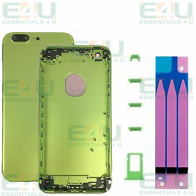 iPhone 7 Style Style Green Metal Back Housing For Apple iPhone 6s Plus