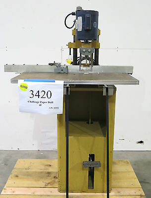 1972 Challenge Model JF Single-Spindle Paper Drill