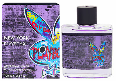 Playboy New York Aftershave 100ml Nach der Rasur for man für den Mann
