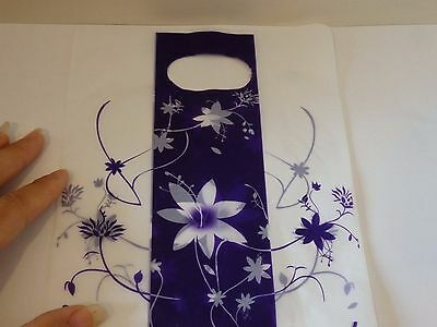 100 small plastic bags gift bags carrier bags purple jewellery card shop UK