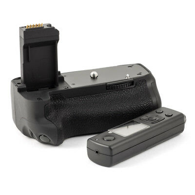 Extended Battery Grip for Canon BG-E18 EOS 750D 760D T6i T6s with Remote Trigger