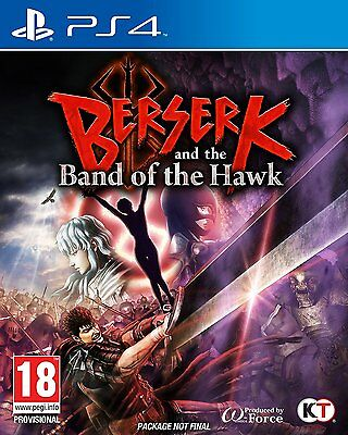 Berserk and the Band of the Hawk (PS4) NEW SEALED PAL