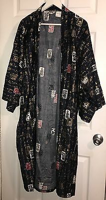 "Juguemm Japan Japanese 45"" Kimono Robe with Belt Never Worn VTG"