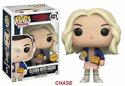 FUNKO POP! TV: STRANGER THINGS - ELEVEN WITH EGGOS 13318 CHASE  Vinyl Figure