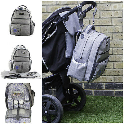 Baby Diaper Bag Backpack Travel Organizer Bag Large Capacity With Changing Pad