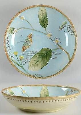 """Fitz & Floyd TOULOUSE BLUE 13 3/8"""" Round Serving Bowl 9542200"""