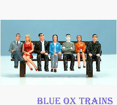 USA Trains G Scale R310 People Sitting Figures