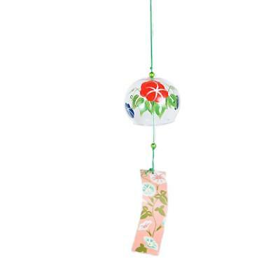 Glass Wind Chime Bell Hanging Ornament for Summer Garden Window Door Decor#4