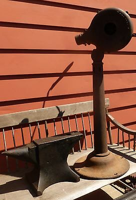 Antique Champion Drill Press   &   Otto Canedy Blacksmith Blower  & Turner Torch