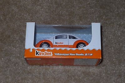 Maisto Ferrero Kinder Surprise 1/43 Diecast Car Volkswagon New Beetle, Limited