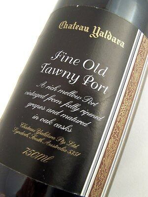 1998 circa NV CHATEAU YALDARA Fine Old Tawny Port Isle of Wine