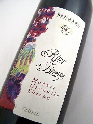 1998 circa NV RENMANO Wines River Breeze GSM Red Blend Isle of Wine