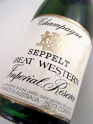 1978 circa NV SEPPELT Great Western Imperial Reserve Sparkling W Isle of Wine