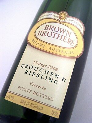 2008 BROWN BROTHERS Crouchen & Riesling A Isle of Wine