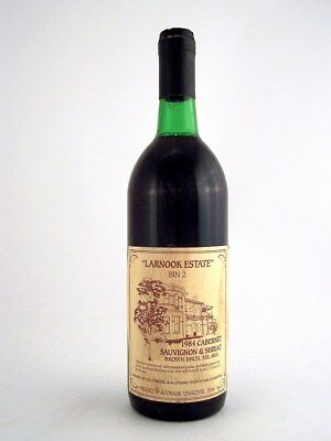 1984 BROWN BROTHERS Larnook Estate Bin 2 Cabernet Shiraz Isle of Wine
