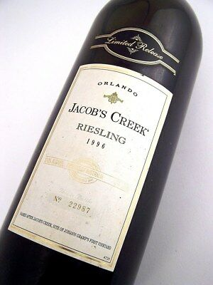 1996 ORLANDO Jacobs Creek Limited Release Riesling 1.5L MAGNUM Isle of Wine