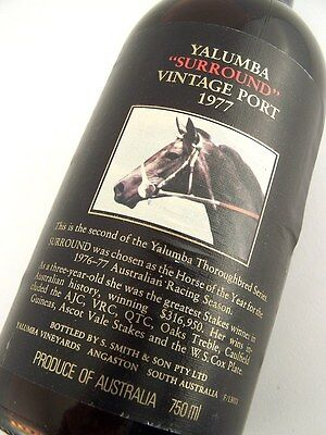 1977 YALUMBA SURROUND Vintage Port S FREE SHIP Isleofwine