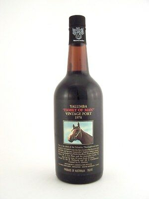 1978 YALUMBA FAMILY OF MAN Vintage Port C FREE SHIP Isleofwine