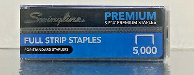 Swingline SF4 Premium Staples - 5000 Per Box + Ships Fast Same Day + Brand New!!