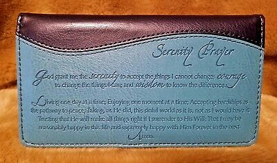 Serenity Prayer Checkbook Cover Checkbook Cover Free Shipping New