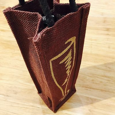 Wine Carry Bag Jute Reusable Single Bottle Wine Gift Bag