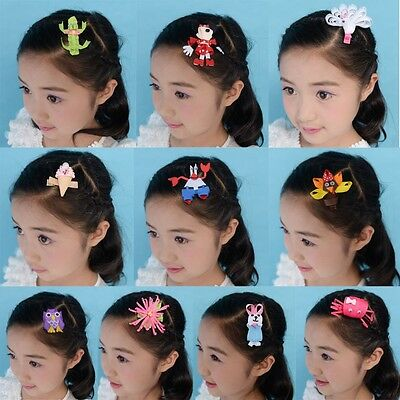 50 BLESSING Good Girl Bug Hair Bow Clip Character Easter Chick Rabbit Egg Owl
