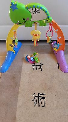 portique d exercice musical de fisher price 1 er âge