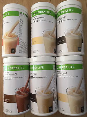 Herbalife Formula 1 Shakes (Meal Replacement Drink) 550g Tubs All Flavours - UK