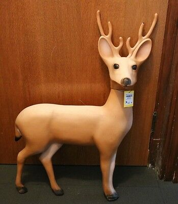 Vintage Deer Buck Blow Mold Union Products 1989