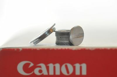 Canon FD F1N NEW F1 Drive contact base cover screws ALL THREE hard to find