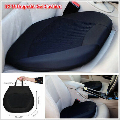 Orthopedic Gel Cushion Home Car Seat Mat Coccyx Sciatica Pain Relief Support Pad