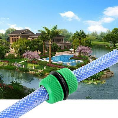 5/10 Garden Water Hose Connector Pipe Quick Connector Joining Mender Repair n0 T