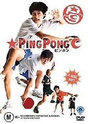Ping Pong (DVD, 2005)  Brand new, Genuine & Sealed  - Free Postage D100