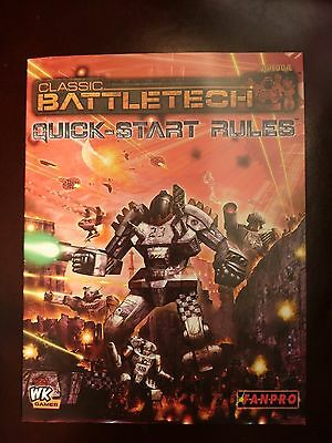Classic Battletech - Quick Start Rules (2006) (Fanpro / Wizkids)
