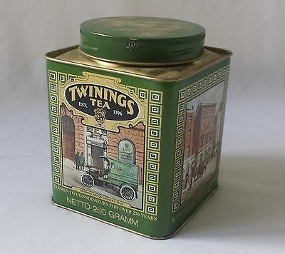 Vintage Twinings Special Breakfast Tea Tin Caddy - Kitchen Storage Kitchenalia
