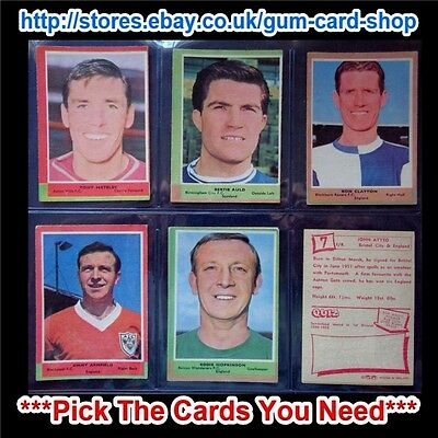 A&Bc 1964 Football Quiz (Good) 1St & 2Nd Series *Pick The Cards You Need*