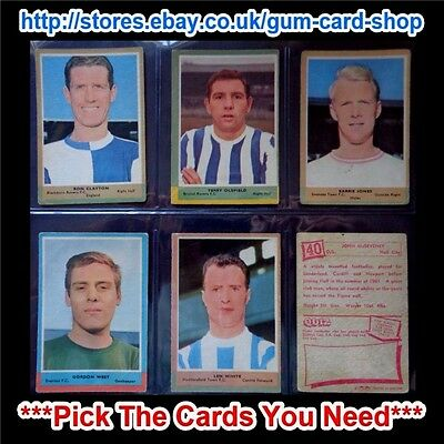 A&Bc 1964 Football Quiz (Fair) 1St Series *Pick The Cards You Need*
