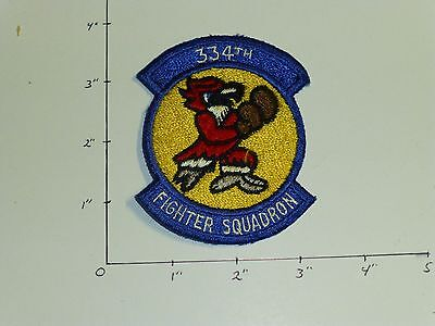 334 Fighter Squadron US Air Force color patch