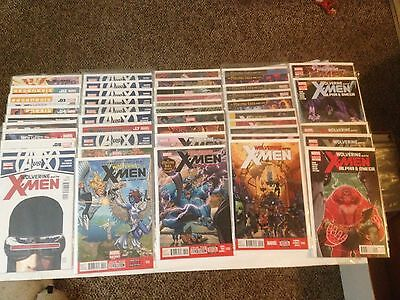 Wolverine and the X-Men #1-40 + mini-series (Marvel) (2011-2014)