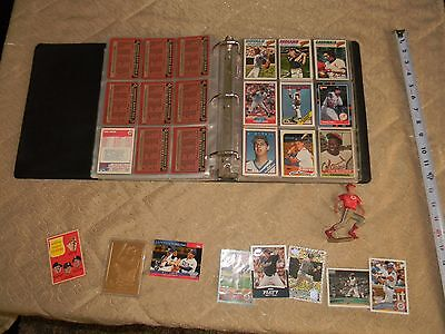 Ultra Pro Collectors Album FULL OF 'LOT' OF BASEBALL CARDS 1988+ mISC
