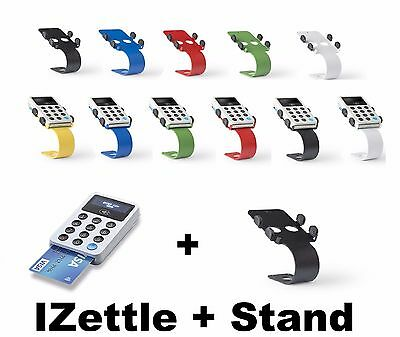 IZettle Card Reader & Desktop Hi Quality Stand - Choose Your Color - UK Stock