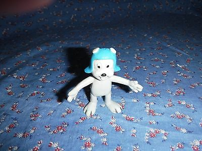 1986 Jesco Rocky Rubber Figure  About 2 3/8 Inch High  Rocky & Bulwinkle