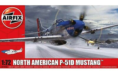 Airfix A01004 1/72 North American P-51 D Mustang