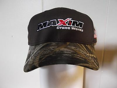 Maxim Crane Works Hat Realtree Max 5