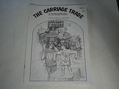 March 1994 The Carriage Trade All Machine Knitting Pattern Book Magazine Mittens