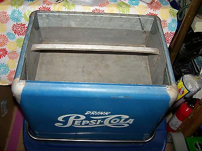 VINTAGE GALVANIZED COKE COOLER ~ PEPSI COOLER THIS IS FOR TRAY INSERT Progress